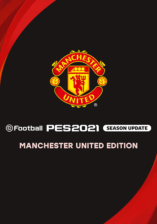 PES 2021 Club Manchester United Edition - Cover / Packshot