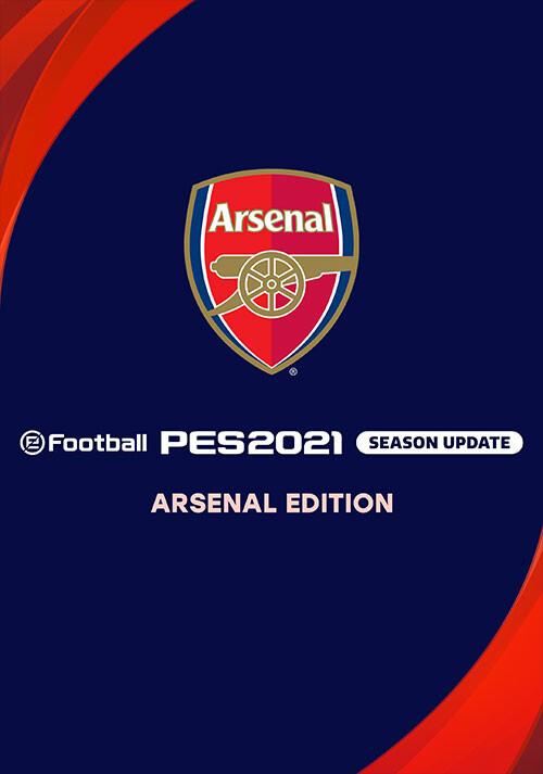PES 2021 Club Arsenal Edition - Cover / Packshot