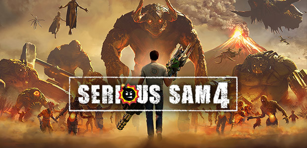 Serious Sam 4 - Cover / Packshot