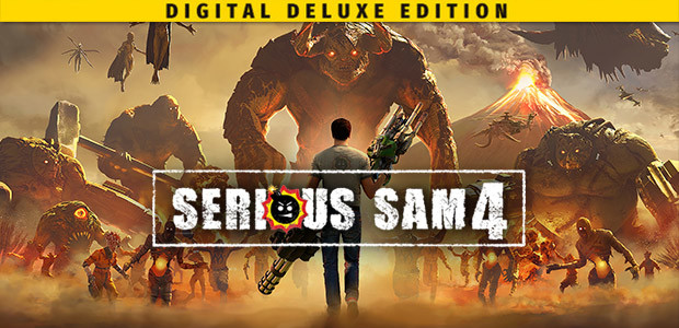 Serious Sam 4 Deluxe Edition - Cover / Packshot