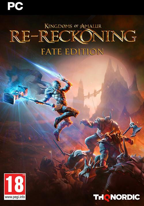 Kingdoms of Amalur: Re-Reckoning FATE Edition - Cover / Packshot