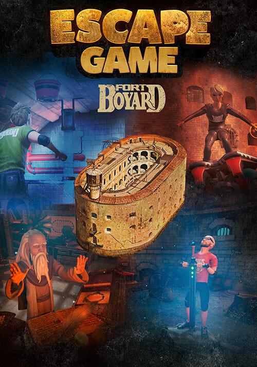 Escape Game Fort Boyard - Cover / Packshot
