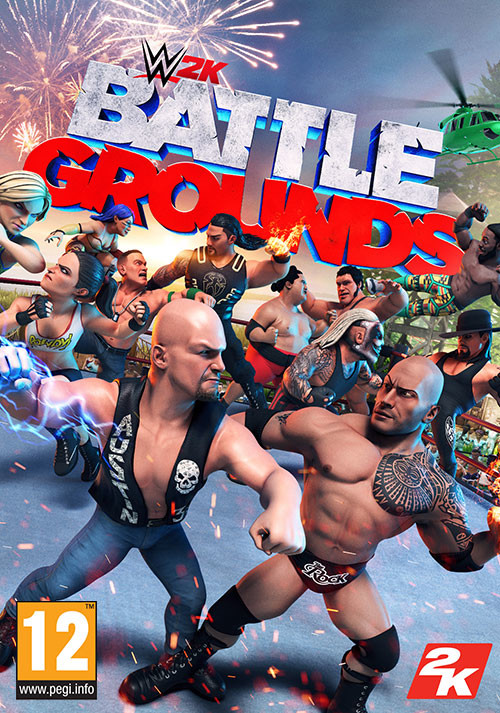 WWE 2K Battlegrounds - Cover / Packshot