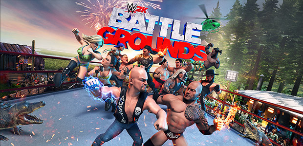 WWE 2K Battlegrounds - Cover / Packshot
