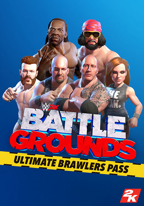 WWE 2K Battle Grounds: Ultimate Brawlers Pass - Cover / Packshot