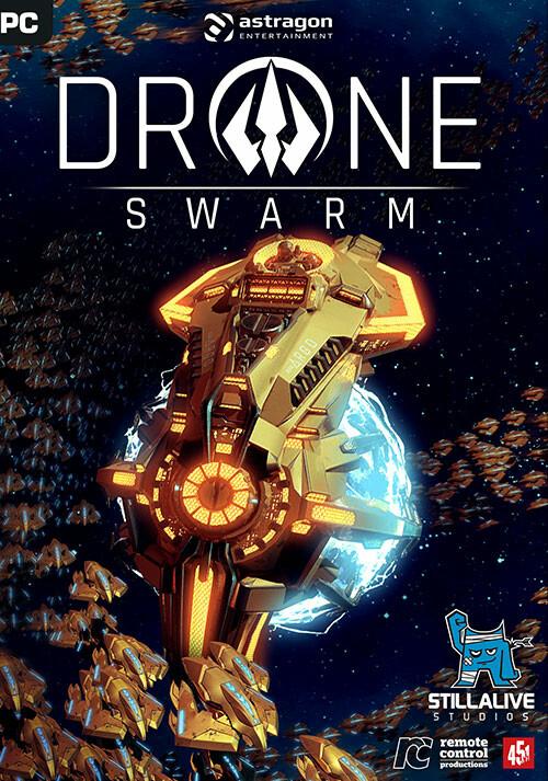 Drone Swarm - Cover / Packshot