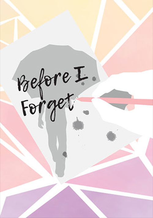 Before I Forget - Cover / Packshot