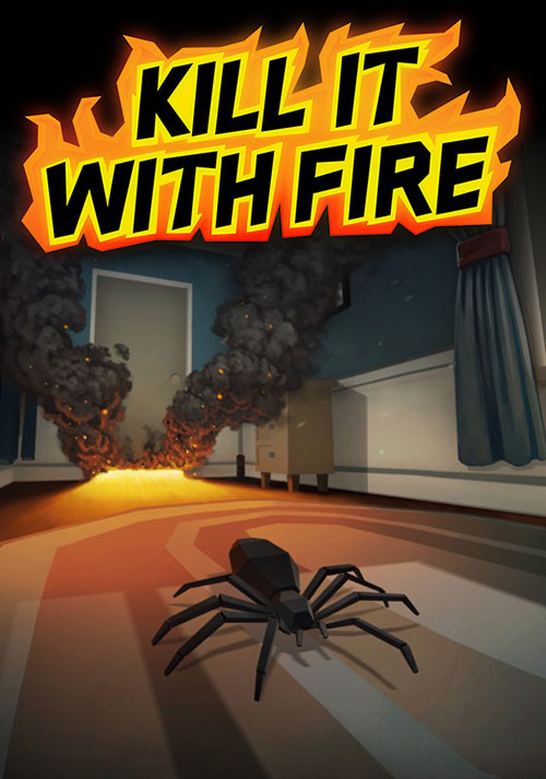 Kill It With Fire - Cover / Packshot