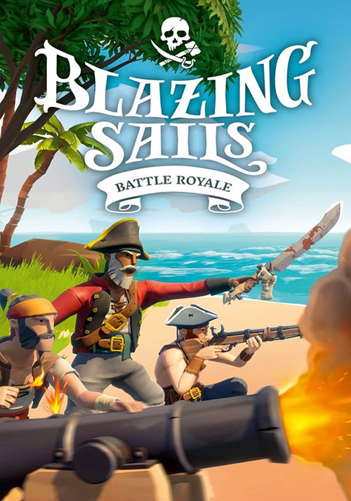 Blazing Sails: Pirate Battle Royale - Cover / Packshot