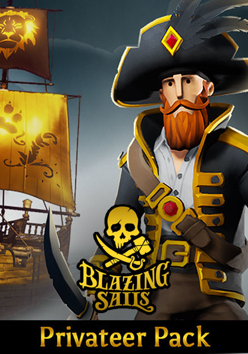 Blazing Sails - Privateer Pack - Cover / Packshot