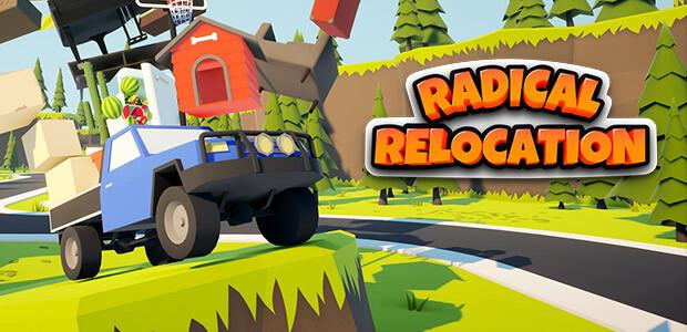 Radical Relocation - Cover / Packshot