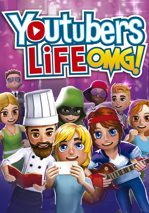 Youtubers Life - Cover / Packshot