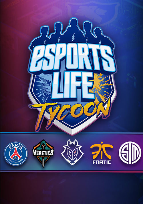 Esports Life Tycoon - Cover / Packshot