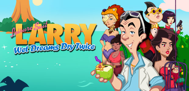 Leisure Suit Larry - Wet Dreams Dry Twice - Cover / Packshot
