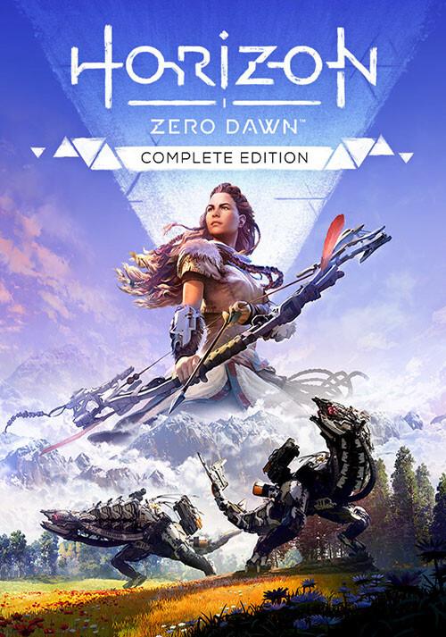 Horizon Zero Dawn - Complete Edition - Cover / Packshot