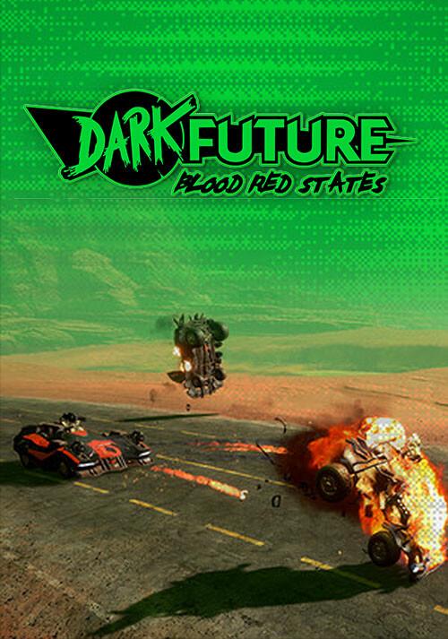 Dark Future: Blood Red States - Cover / Packshot