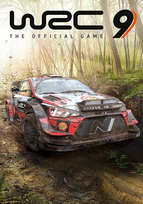 WRC 9 FIA World Rally Championship - Cover / Packshot
