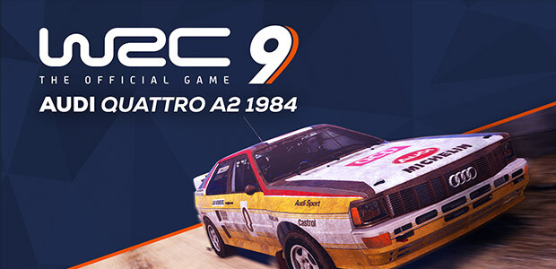 WRC 9 - Audi Quattro - Cover / Packshot