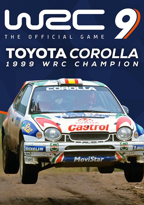WRC 9 - Toyota Corolla - Cover / Packshot