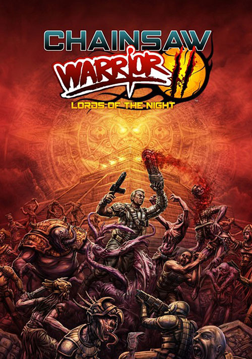 Chainsaw Warrior: Lords of the Night - Cover / Packshot