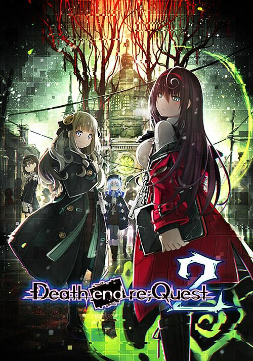 Death end re;Quest 2 - Cover / Packshot