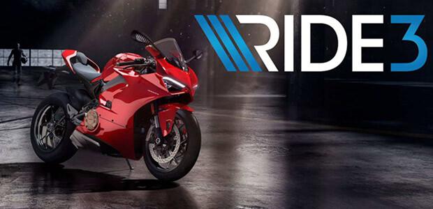 RIDE 3 - Cover / Packshot