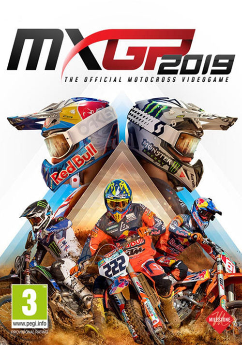 MXGP 2019 - The Official Motocross Videogame - Cover / Packshot