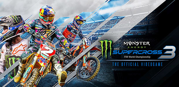 Monster Energy Supercross - The Official Videogame 3 - Cover / Packshot