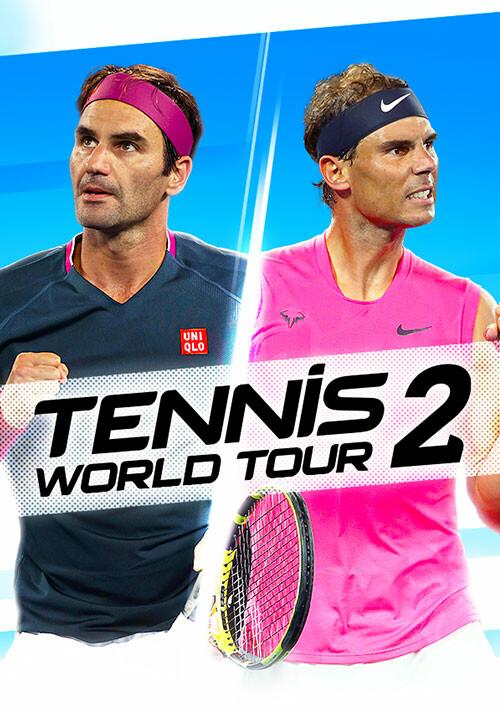Tennis World Tour 2 - Cover / Packshot