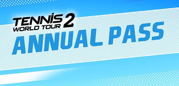 Tennis World Tour 2 Annual Pass - Cover / Packshot
