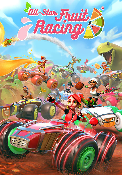 All-Star Fruit Racing - Cover / Packshot