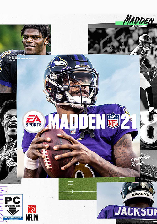 Madden NFL 21 - Cover / Packshot