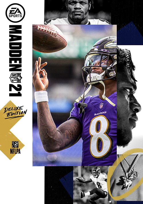 Madden NFL 21: Deluxe Edition - Cover / Packshot