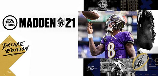 Madden NFL 21: Deluxe Edition - Cover / Packshot