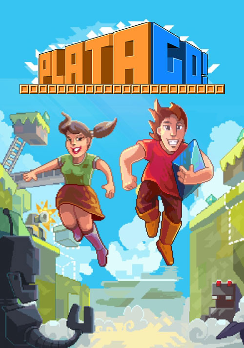 PlataGO! Super Platform Game Maker - Cover / Packshot