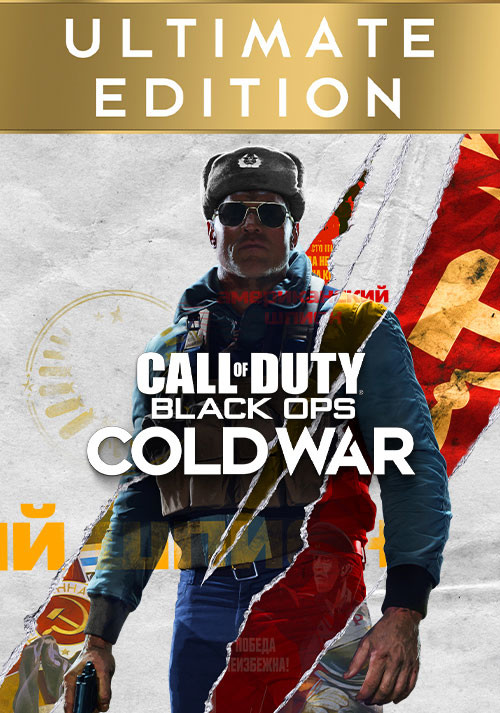 Call of Duty: Black Ops Cold War - Ultimate Edition - Cover / Packshot