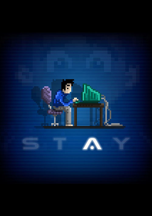STAY - Cover / Packshot