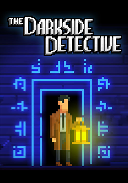 The Darkside Detective - Cover / Packshot
