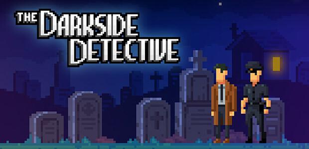 The Darkside Detective - Cover / Packshot