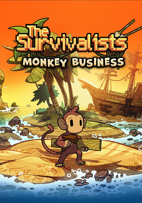 The Survivalists - Monkey Business Pack - Cover / Packshot