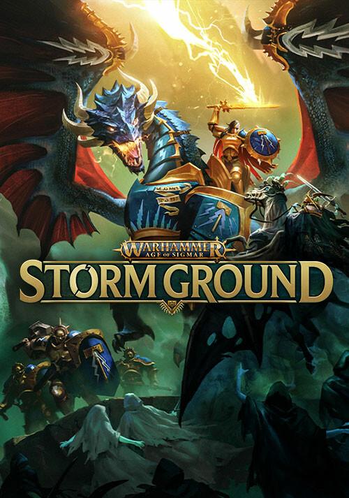 Warhammer Age of Sigmar: Storm Ground - Cover / Packshot