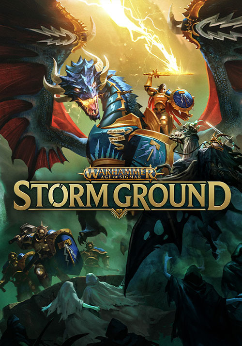 Warhammer Age of Sigmar: Storm Ground - Cover / Packshot
