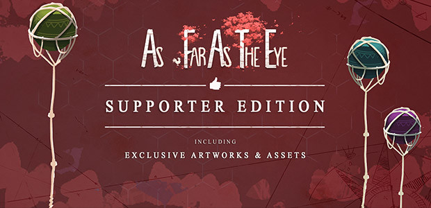 As Far As The Eye - Supporter Bundle - Cover / Packshot