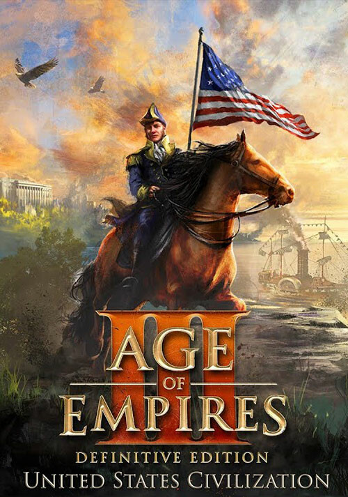 Age of Empires III: Definitive Edition - United States Civilization - Cover / Packshot