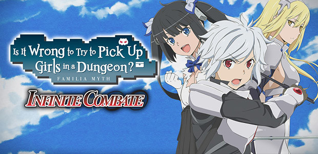 Is It Wrong to Try to Pick Up Girls in a Dungeon? Infinite Combate - Cover / Packshot