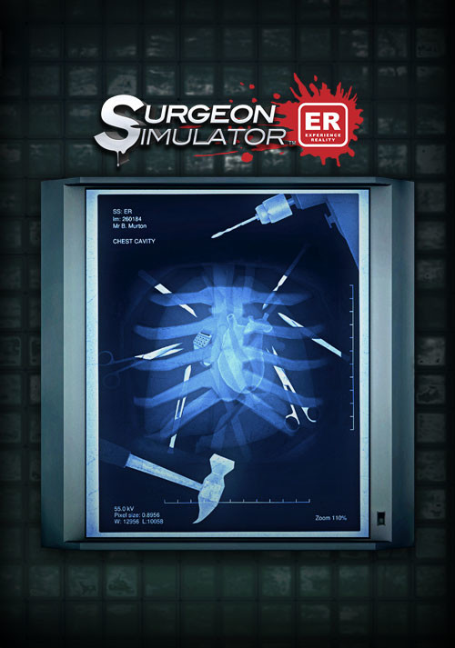 Surgeon Simulator: Experience Reality - Cover / Packshot