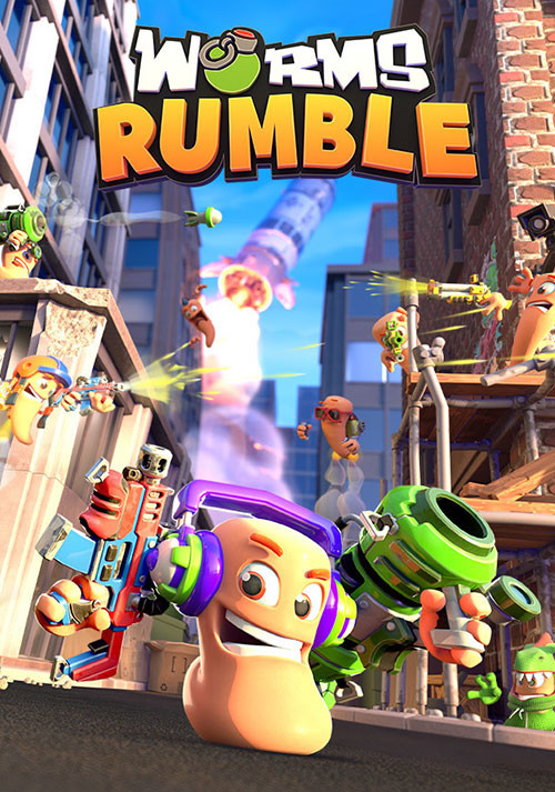 Worms Rumble - Cover / Packshot