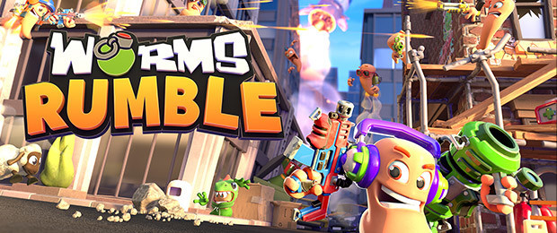 Explore battle royale awaits in the Worms Rumble Beta - Now Available!