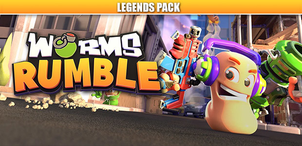 Worms Rumble - Legends Pack - Cover / Packshot