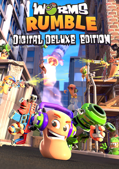Worms Rumble Deluxe Edition - Cover / Packshot